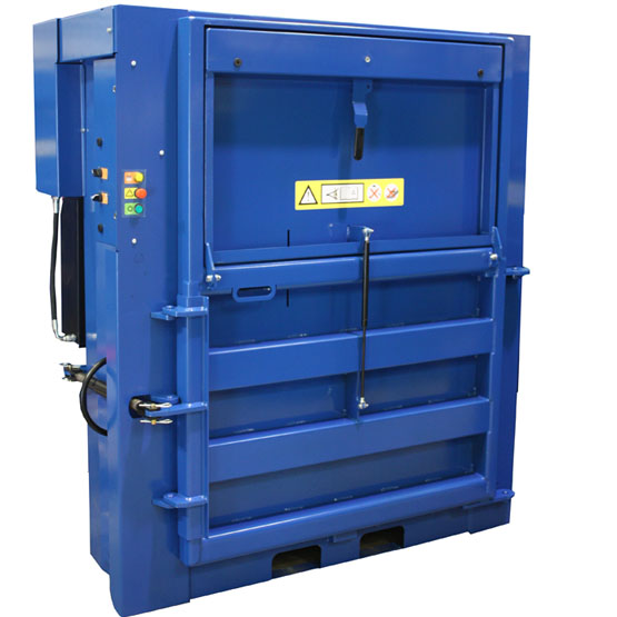 Low height 300kg vertical baler